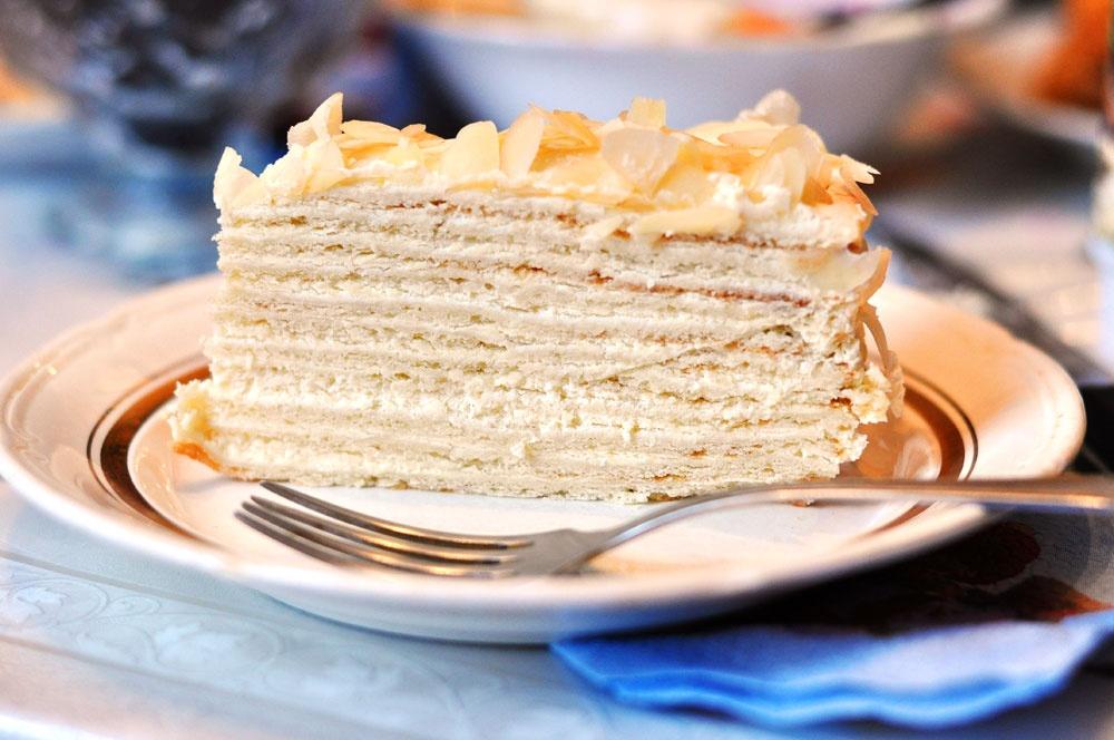 Торт классический сметанник рецепт