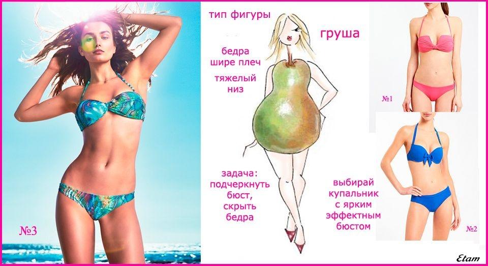 Как похудеть девушке с фигурой груша