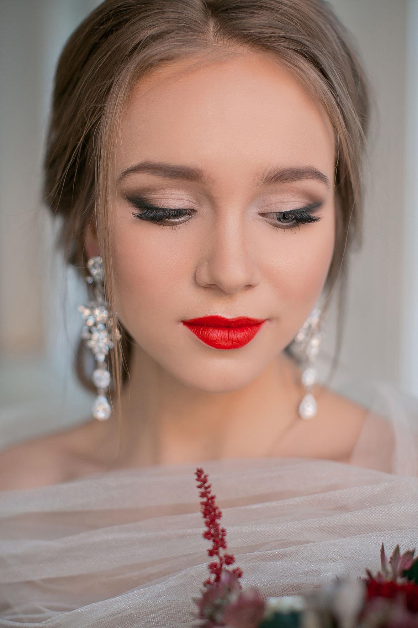 Фото свадебный макияж мастер класс