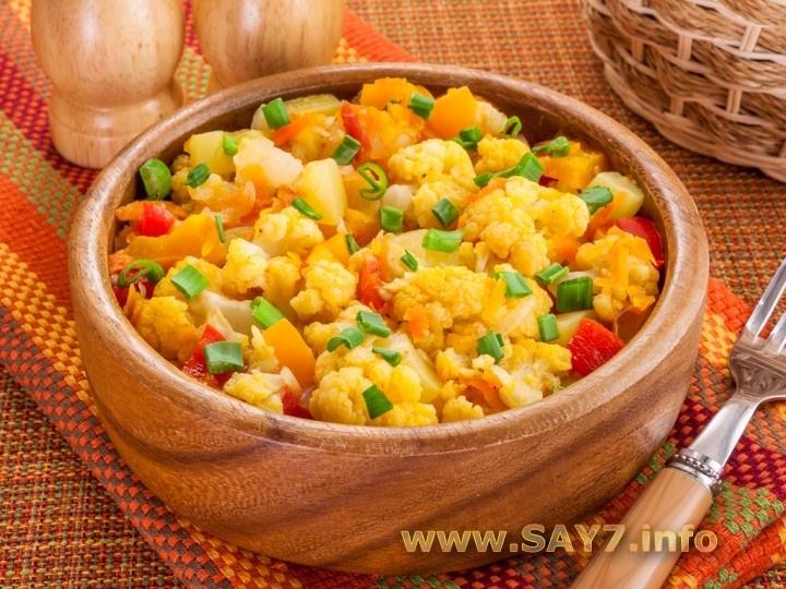 Овощное рагу пп рецепт с пошагово