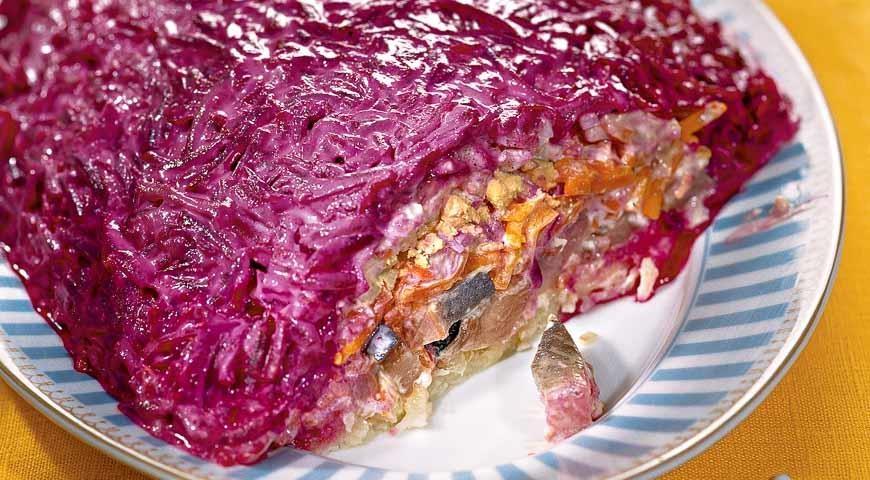 Фото рецепты пошаговые мясо под шубой