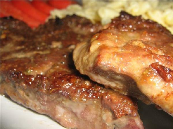 Рецепт печени из говядины