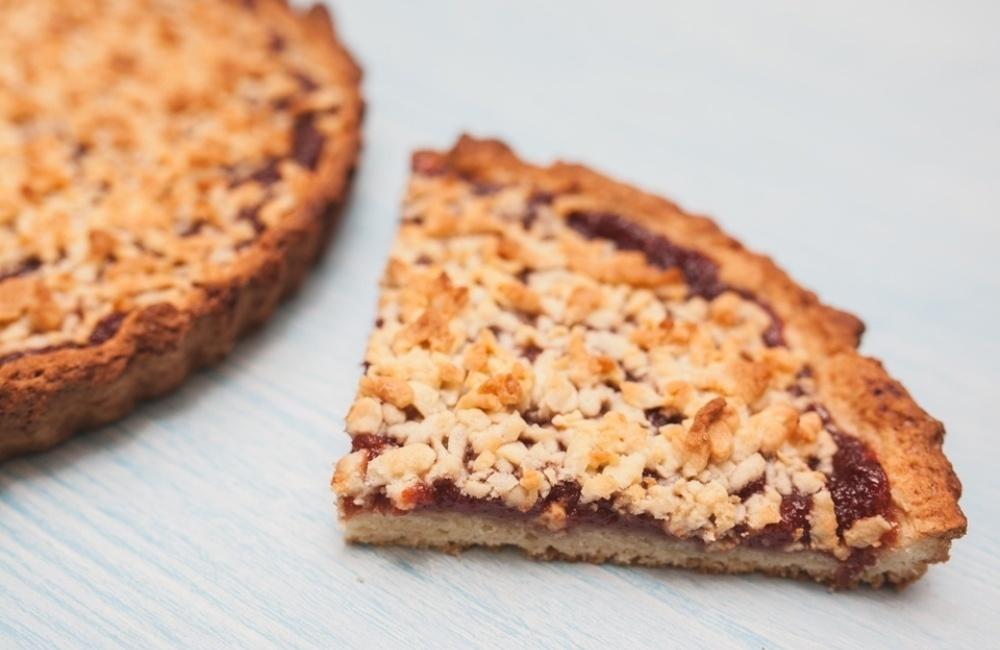 Рецепт тертого пирога с вареньем пошаговый рецепт
