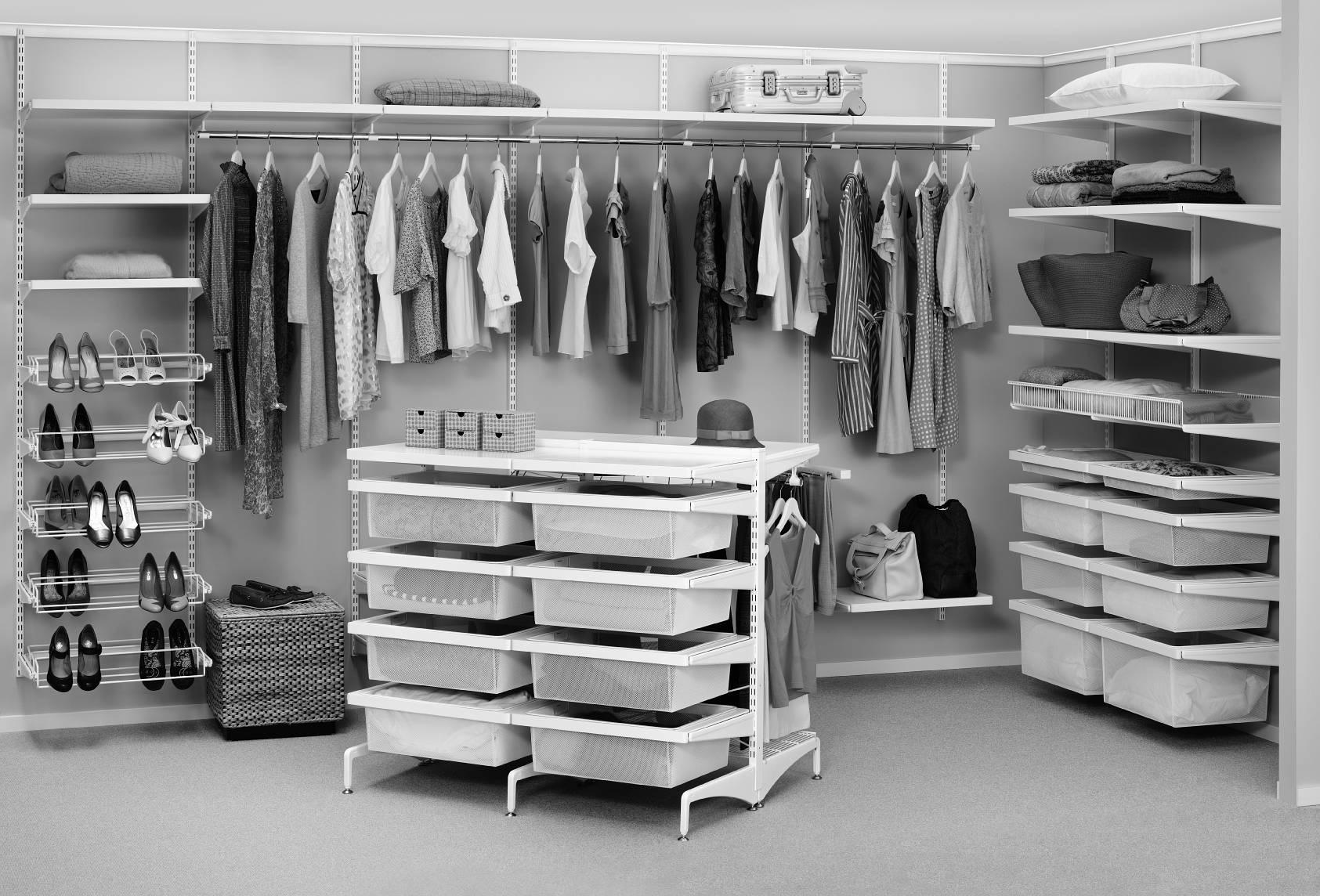 Как спланировать гардеробную: основные правила (30 фото).