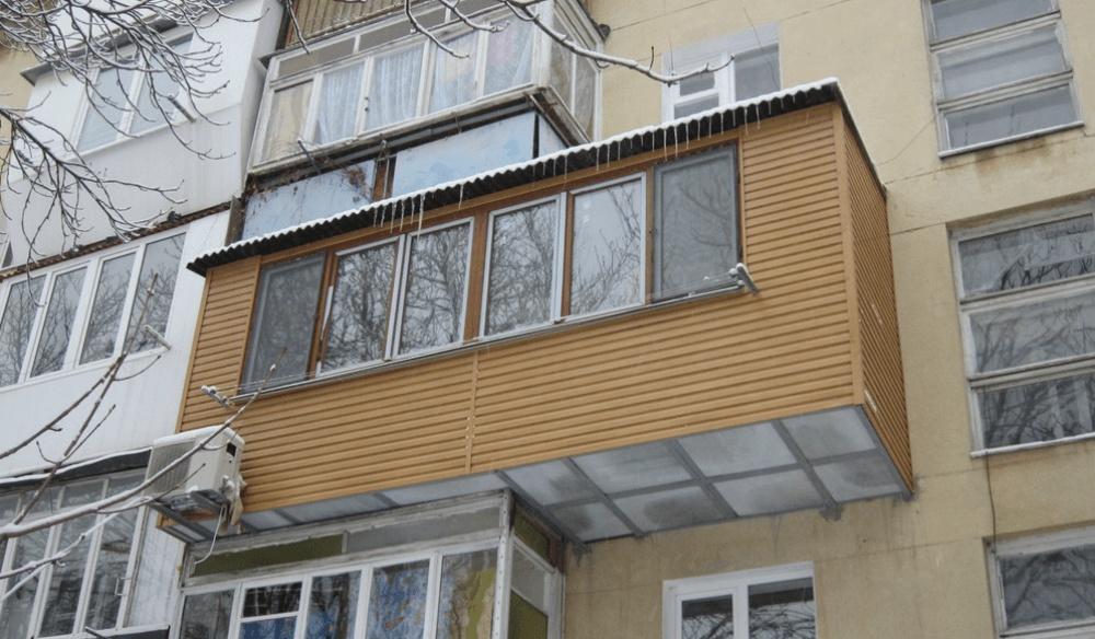 Капитальный ремонт - ремонт балконов.