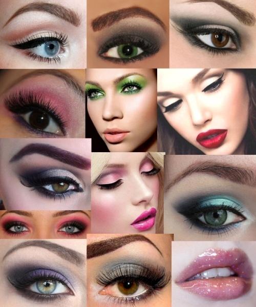 Модный макияж 2017 35 фото тенденции модные цвета для