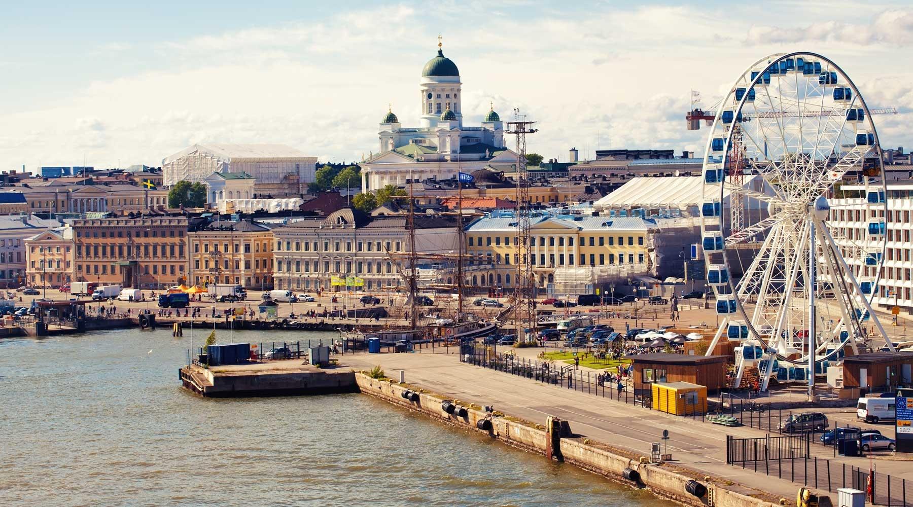 Автобусы СанктПетербург  Хельсинки такси в Финляндию от