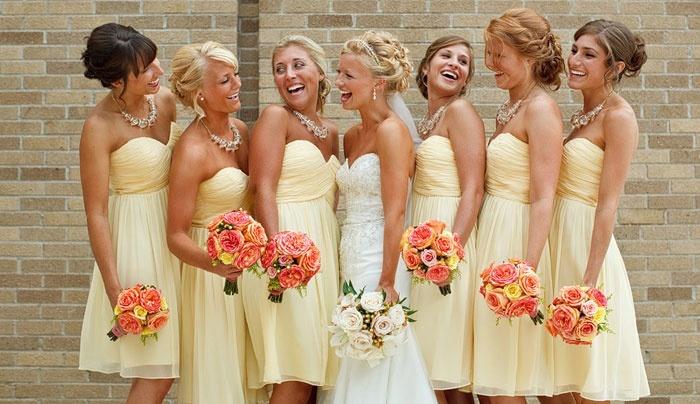 модные прически подружки невесты