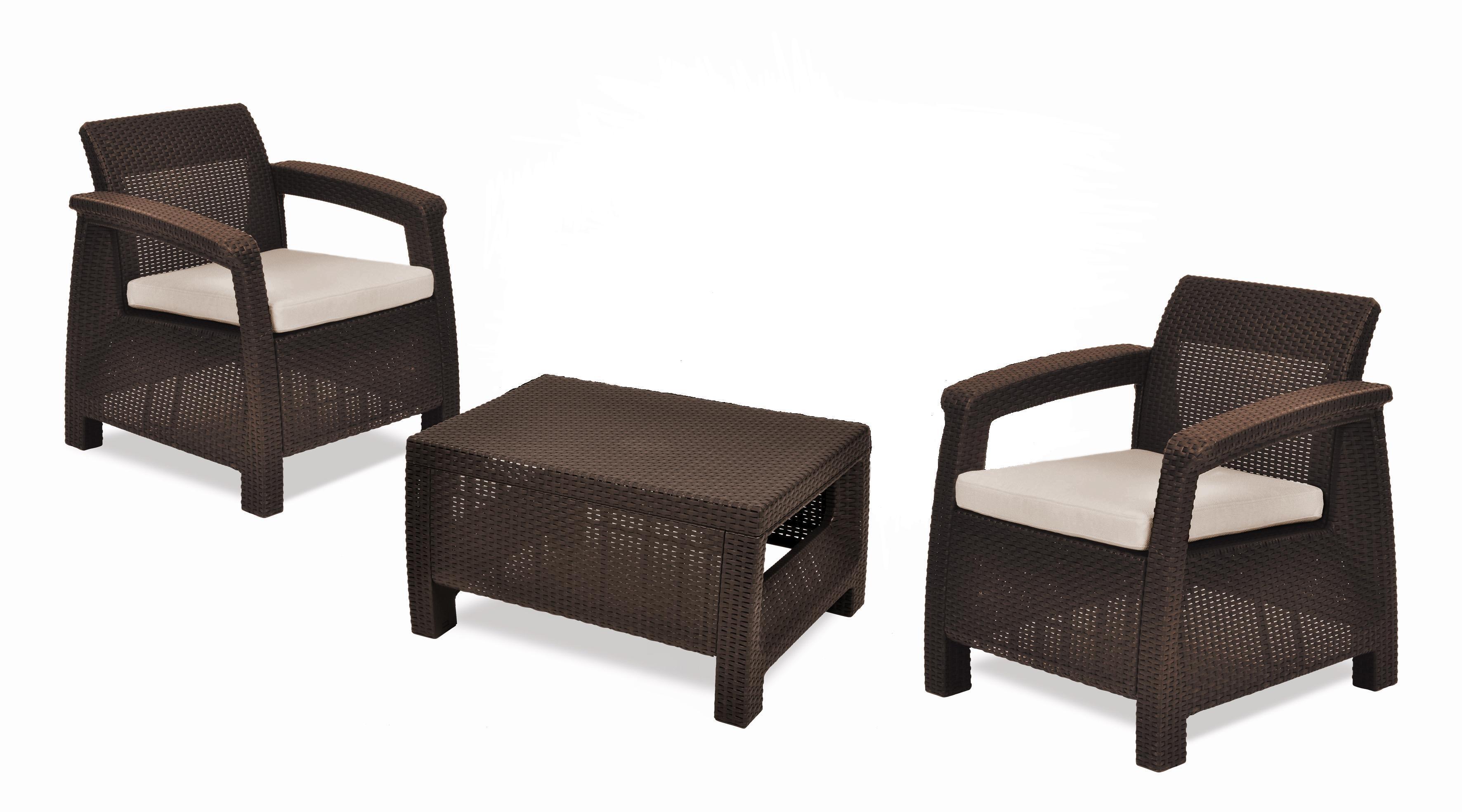 "Мебель для балкона, дачи комплект corfu balcony set ""корфу б."