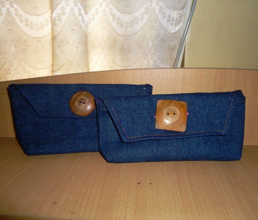 Клатч своими руками из старых джинсов старой сумки ткани