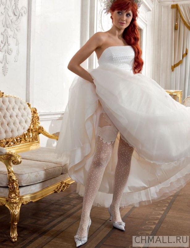 свадебные прически с имитацией чюлки