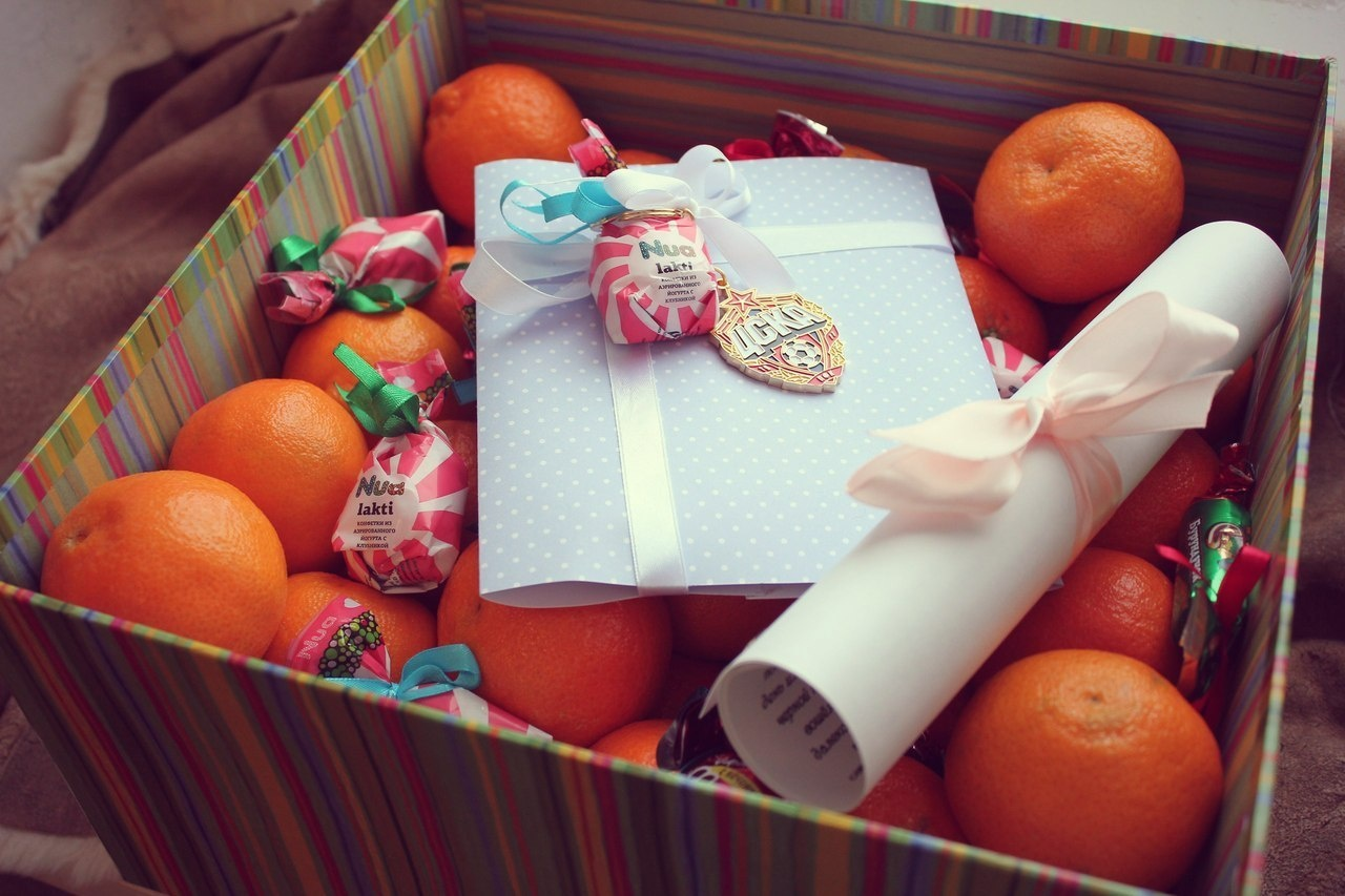 Подарки своими руками еда фото красивые 6