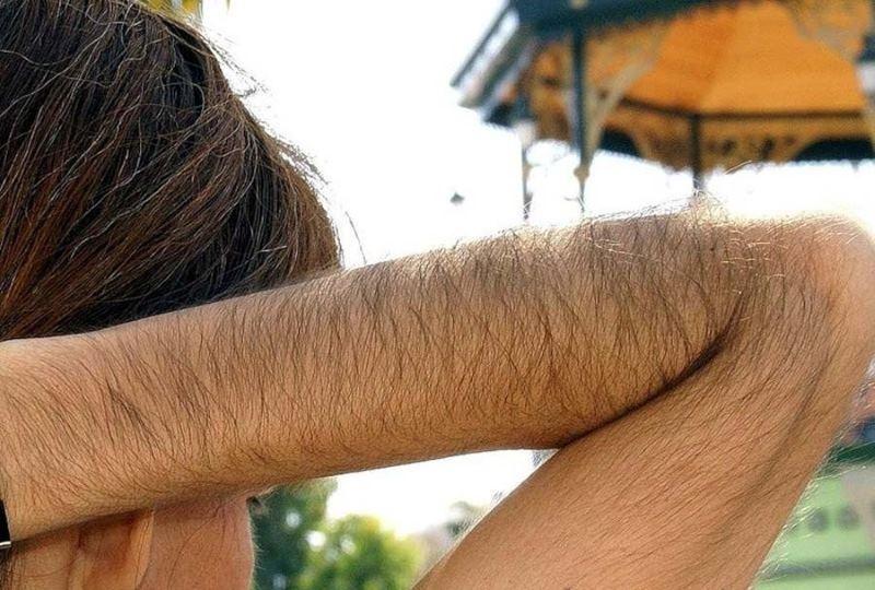 волосы на сосках фото