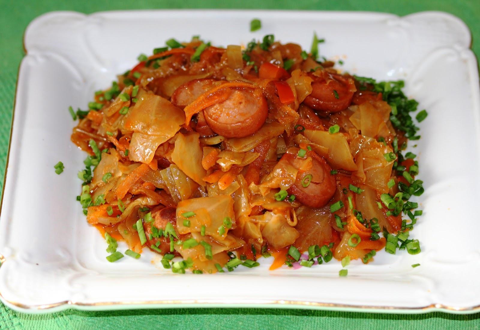 Солянка с картошкой и капустой рецепт с фото 4