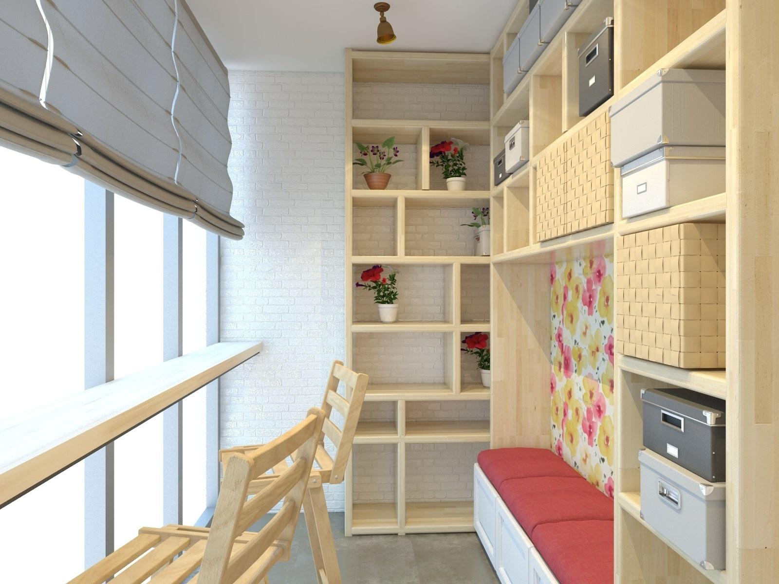 Идеи дизайна балкона: фото оригинальных решений.