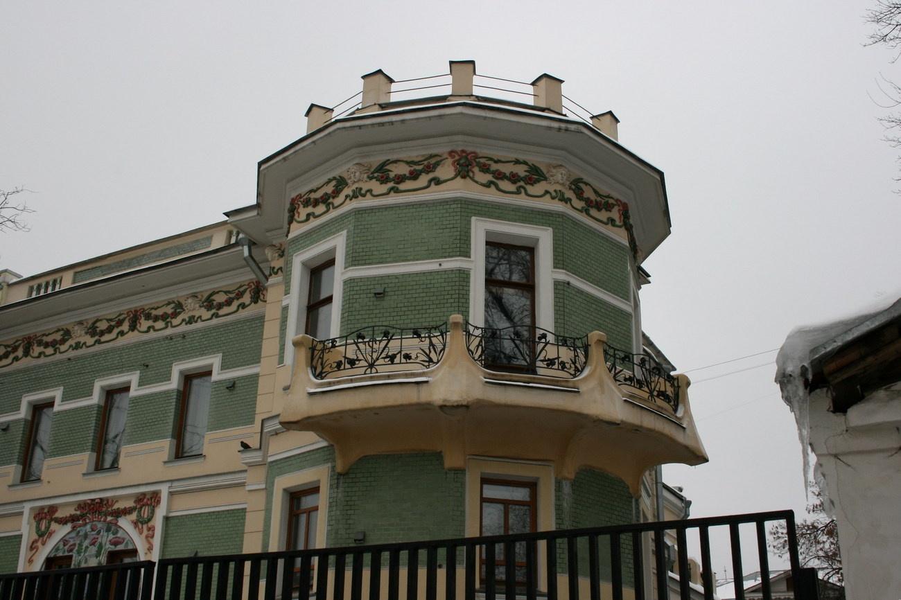 """Необычный балкон в стиле модерн"""" - карточка пользователя nre."""