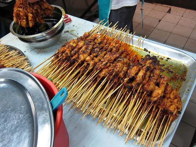 Шашлыки из свинины потайски рецепт с фото