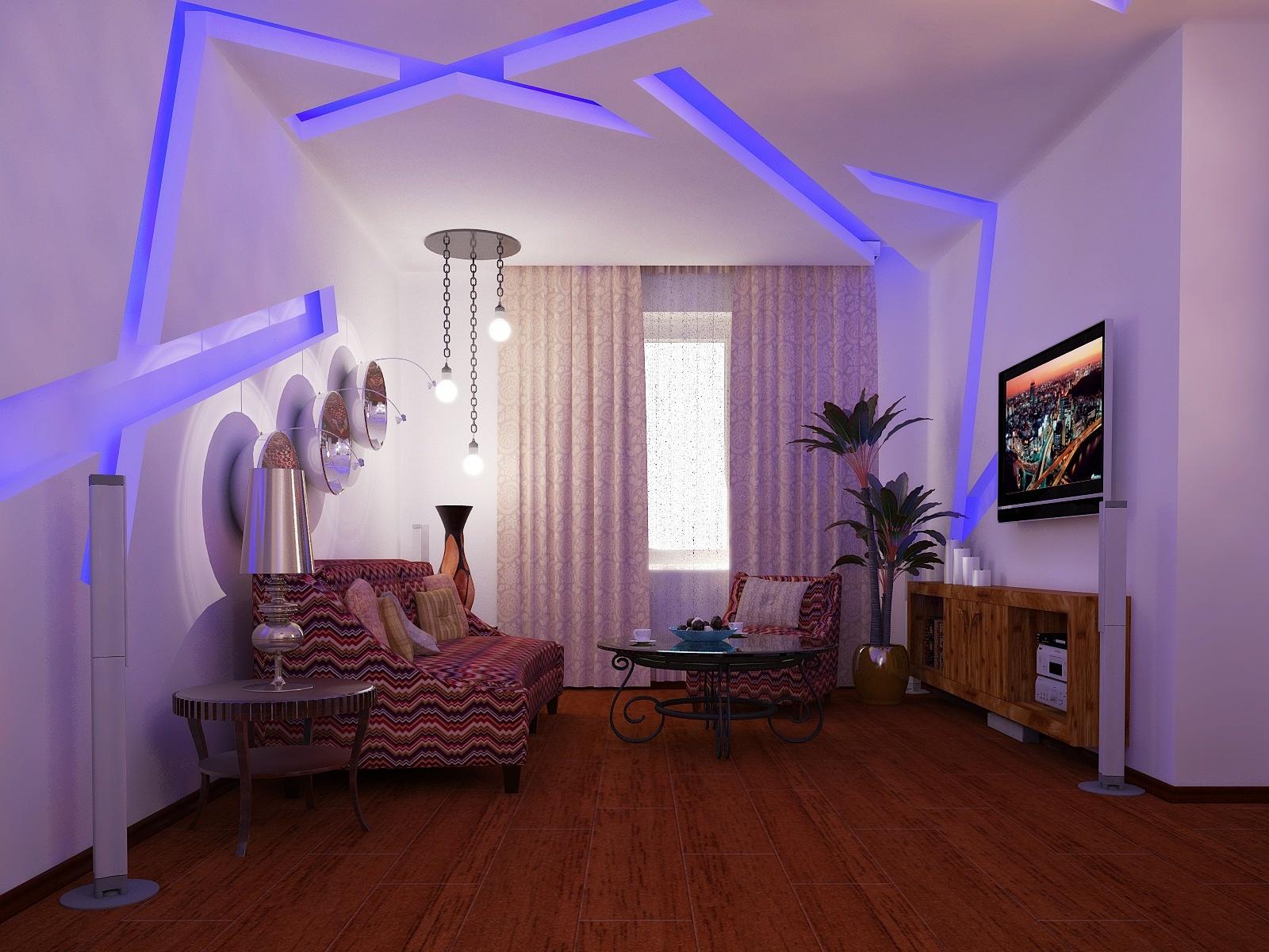 Варианты освещения комнат - 75 фото лучших идей от дизайнеро.