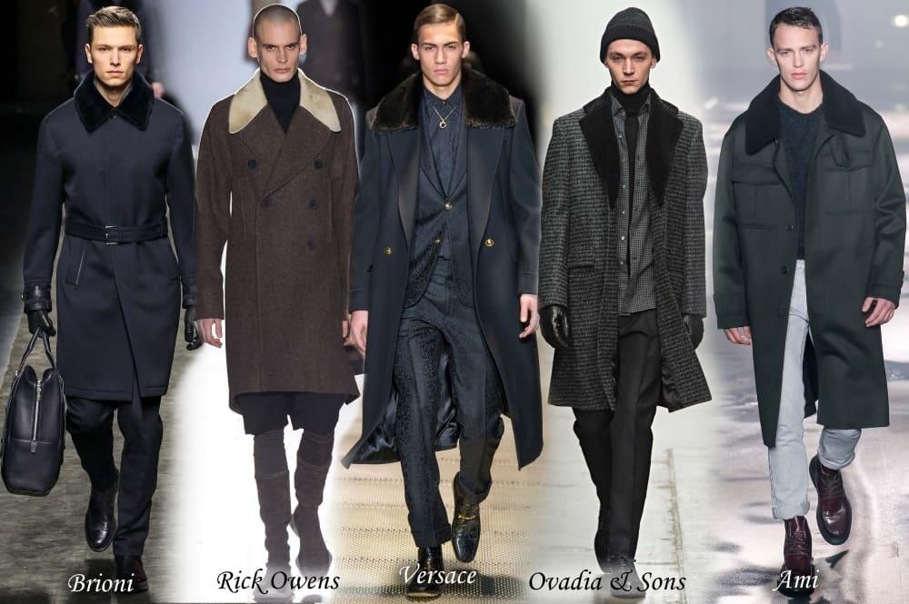 разные пальто мужские
