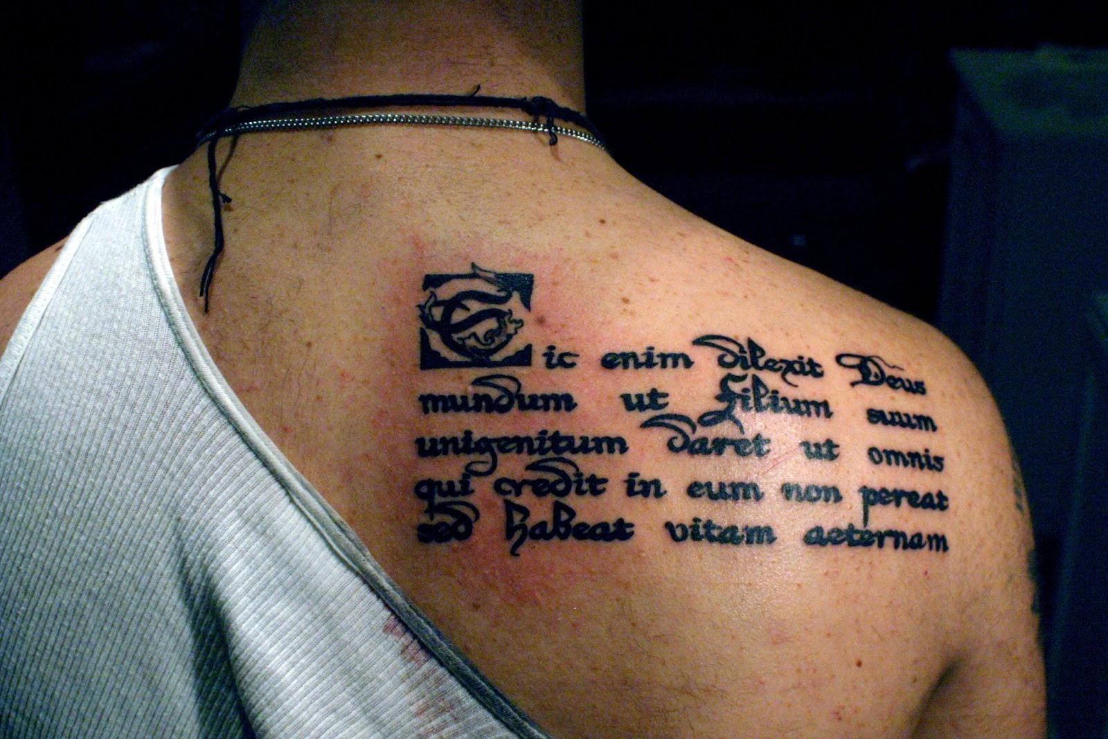 Фото тату надписей на латыни с переводом 7