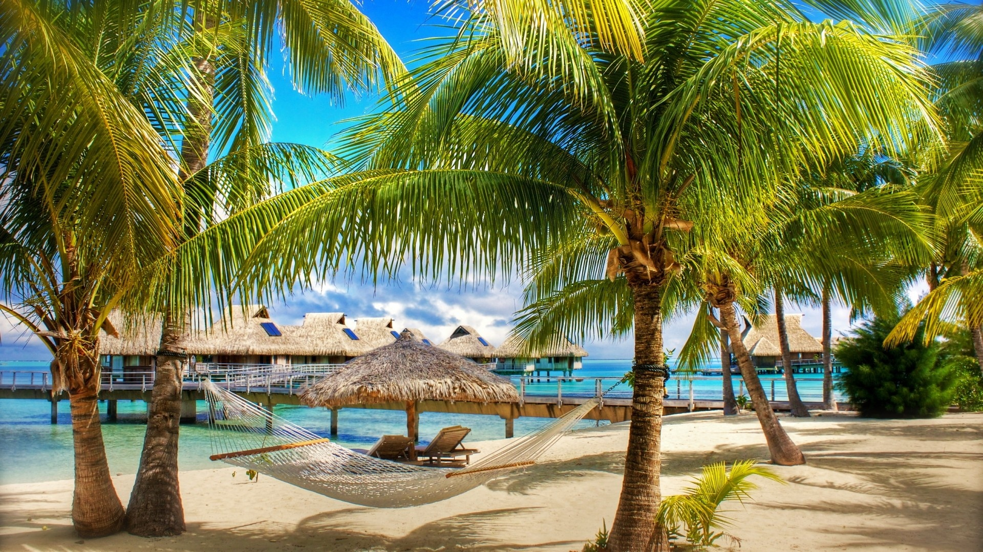 tropical resorts wallpaper background - photo #11