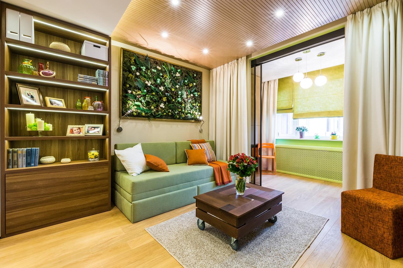 Как зонировать комнату для родителей и ребенка: фото идеи, с.