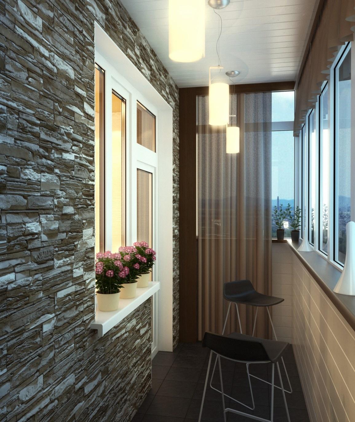Внутренняя отделка балкона своими руками (фото, видео).