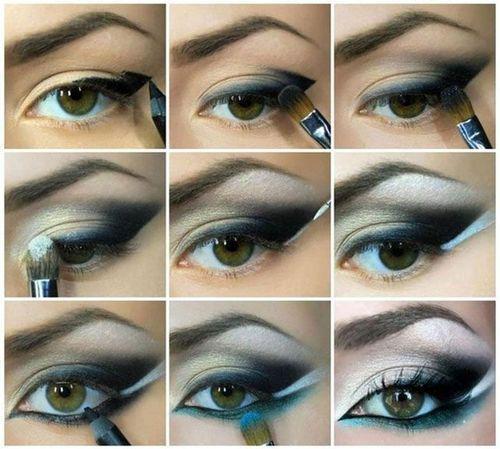Макияж для карих глаз пошагово Фото  видео Подходящая