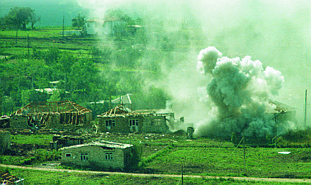 Вторая чеченская война. Штурм Черной крепости