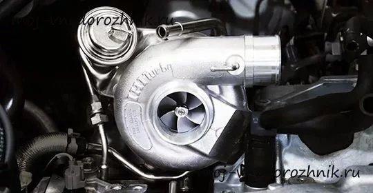 Принцип работы турбины на дизельном двигателе - изображение 1