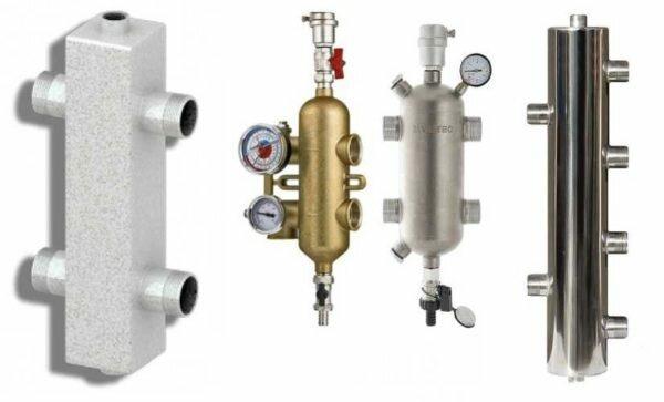 Что такое гидрострелка (гидравлический разделитель) в системе отопления - изображение 1