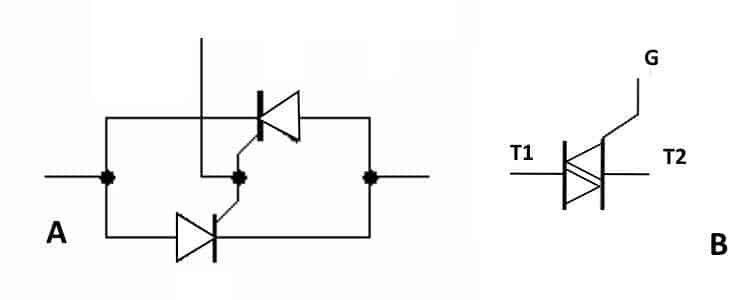 Симистор принцип работы