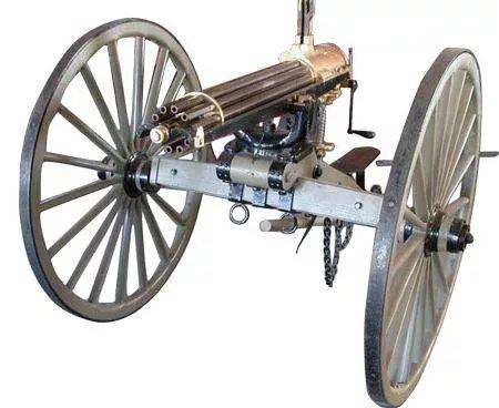 Пулемет Гатлинга: принцип работы, характеристики - фото 1