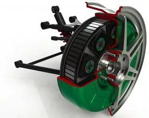 Двигатель Дуюнова: описание, принцип работы. Мотор-колесо Дмитрия Дуюнова - фото 1