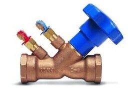 Балансировочный клапан для системы отопления - изображение 1