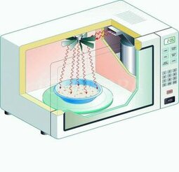 Принцип действия микроволновой печи и возможности устройства - фотография 1